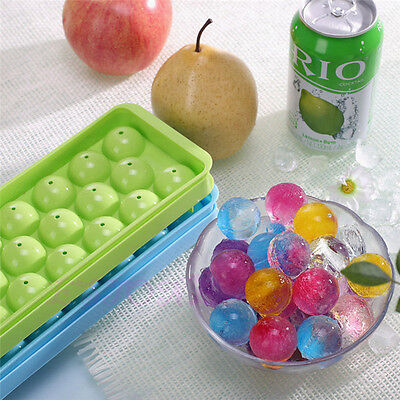 Whiskey Ice Ball Cube Maker Tray Sphere Party Brick Round Kitchen Mold Mould Bar (Party Ice Tray)