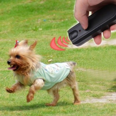Ultrasonic Anti Bark Aggressive Dog Pet Repeller Barking Stop Banish Training