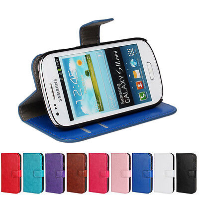 Best Quality For Samsung Galaxy S3 mini i8190 Wallet Case Cover Phone (Best Cover For Galaxy S3)