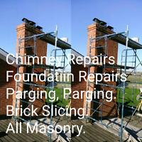 Chimney Repairs Foundation Repairs,Parging,Cracks