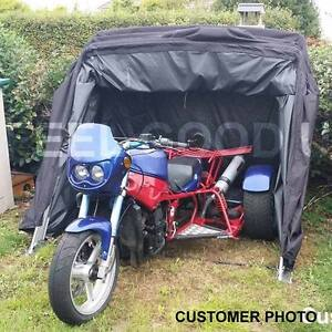 MOTORBIKE BIKE COVER SHED MOPED STORAGE GARAGE BARN MOTORCYCLE SCOOTER FOLDING +