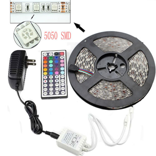 5M SMD RGB 5050 Waterproof LED Strip ...