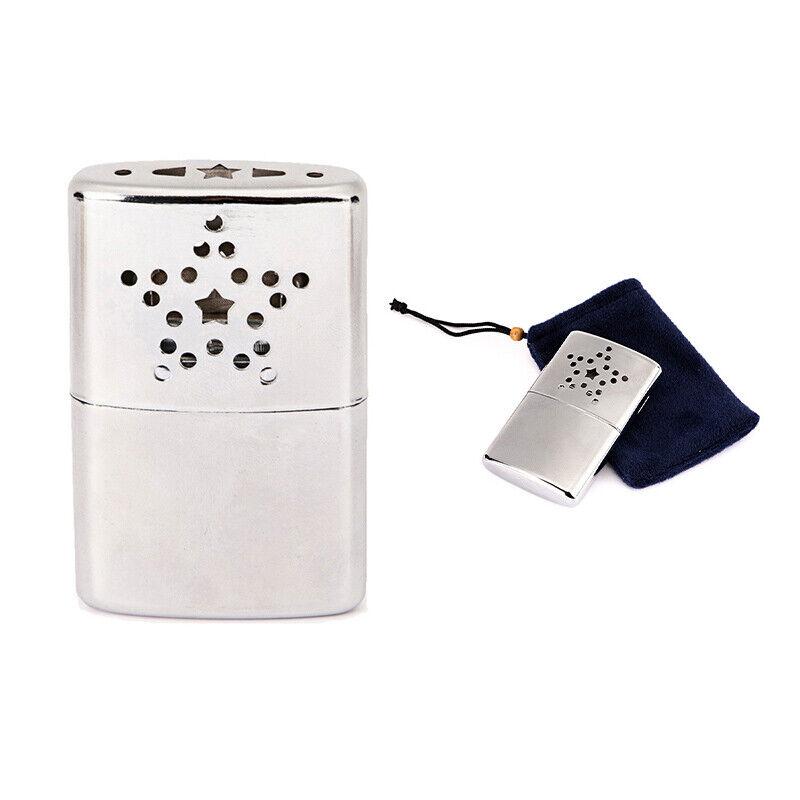Portable Fuel Hand Warmer Reusable Pocket Handy Warmers For Outdoor Fish JdBRU