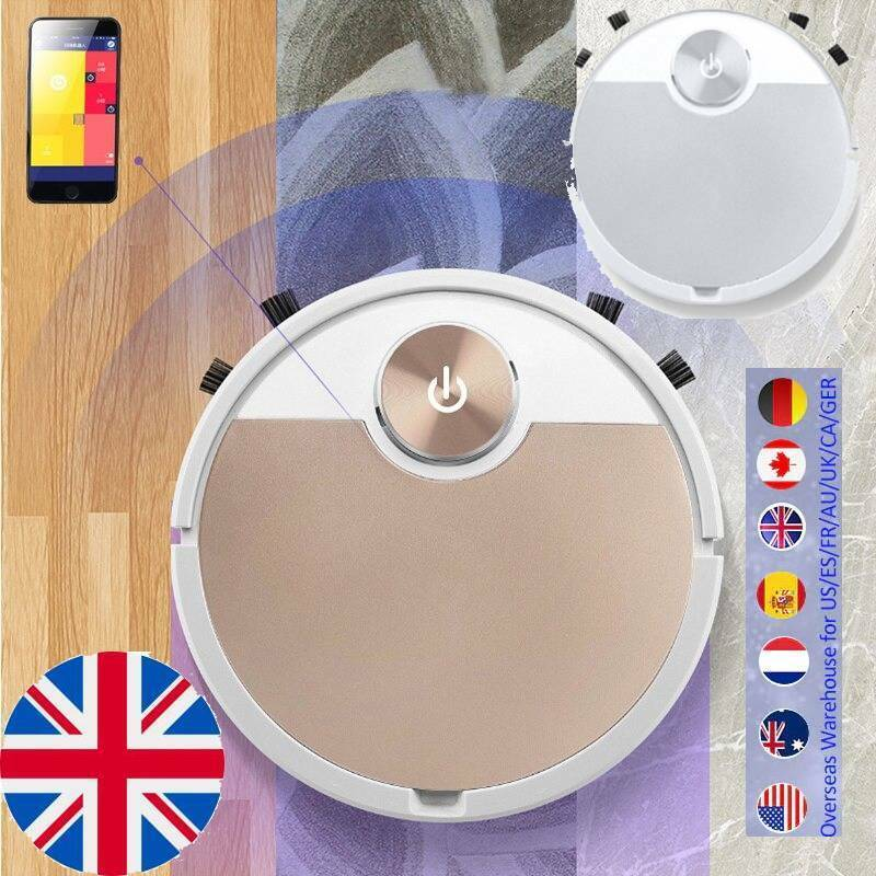 Phone APP Remote Control Automatic Robot Vacuum Cleaner Dust Remover Sweeper