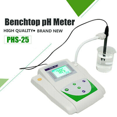 Lab Benchtop Ph Meter Desktop Digital Mv Tester Meter Temperature Compensation