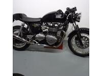 TRIUMPH THRUXTON. STAFFORD MOTORCYCLES LIMITED
