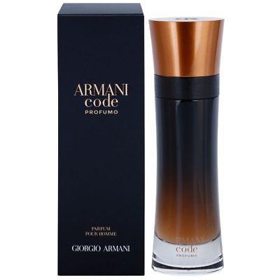 ARMANI CODE PROFUMO BY Giorgio Armani 3.7 oz / 110 ml PARFUM SPRAY MEN NIB