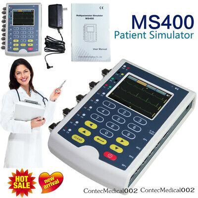 Ms400 Portable Ecg Simulator Multi Parameters Patient Simulator Touch Screenusa