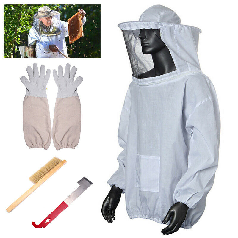 Professionell Beekeepers Schutzanzug Imkerjacke Hut Imker Jacke Imkerbekleidung
