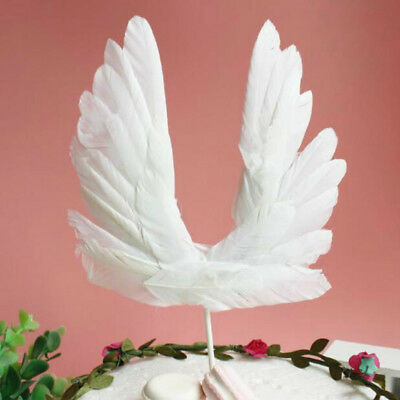 Birthday Cake Feather Decorations Wedding Party Supplies Angel Wings Accessories