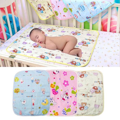 Baby Infant Diaper Nappy Urine Mat Kid Waterproof Bedding Ch