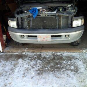 Dodge Ram 1500 bumpers