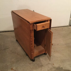 Drop Leaf Table with Storage space