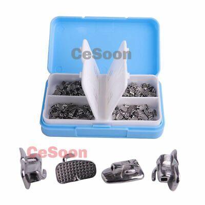 200pcs Orthodontic Buccal Tube Monoblock 1st Molar Roth 022 Bondable Non-convert