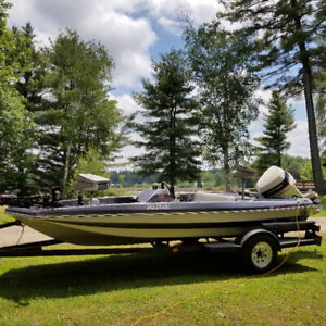 Bass boat to trade for touring/cruiser motorcycle