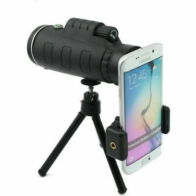 40X60 Zoom Phone Camera Lens Monocular Telescope+Tripod+Clip For Samsung iPhone