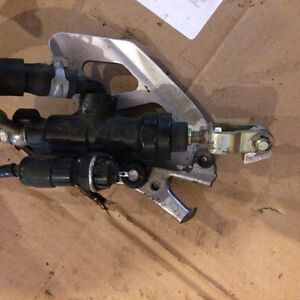Triumph Daytona Speed Four TT600 rear master cylinder