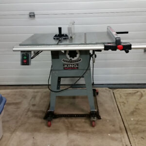 "King Canada 10"" Industrial Table Saw"