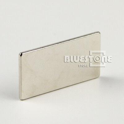 Big Super Strong Block Magnet 40 X 20 X 2mm Craft Model Rare Earth Neodymium N35