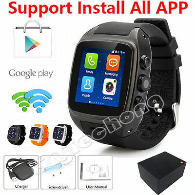 X01 Bright Watch Phone Android 3G Wifi GPS WCDMA Wristwatch Waterproof SmartWatch