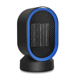 Personal Space Heater Fan Ceramic Desktop Oscillating Electric