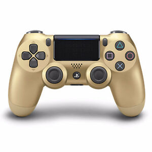 Brand New PS4 Dualshock Controller Gold Limited Edition
