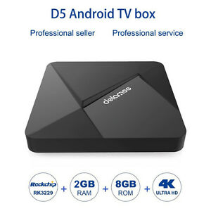 2GB DOLAMEE Android TV BOX FULLY LOADED with KODI 17.0 installed