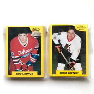 1989-90 Belleville Bulls + Oshawa Generals OHL Hockey Team Sets