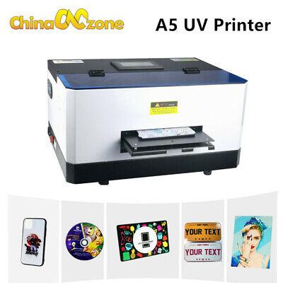 A5 Uv Flatbed Printer Epson L800 For Case Lightweight Phone Case Printer 6 Color