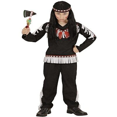 Indianer Junge Kinder Kostüm Gr.104 2-3 J. Winnetou Apachen Krieger braun (Kinder Indianer Junge Kostüm)