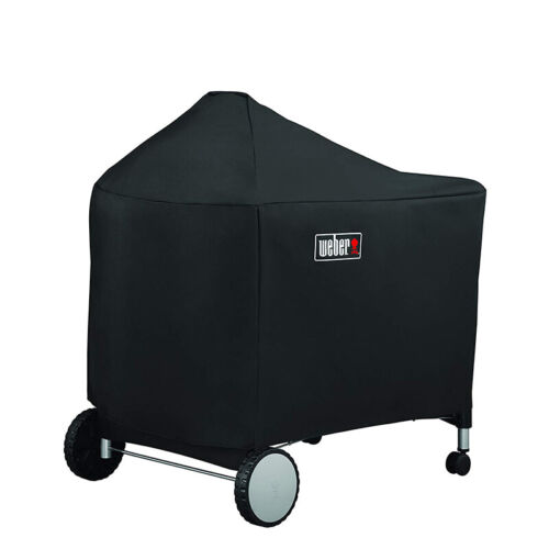 Weber 7152 Grill Cover For Weber Performer Premium And Deluxe, 22 Inch, Black