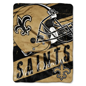 NFL Microplush Throw, SAINTS, New