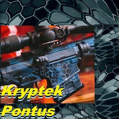 0.52m Water Transfer Print Film Blue Hydrographic Hydro Dip Kryptek Pontus Pr