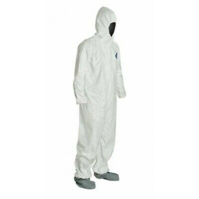 Dupont Ty122s Tyvek Disposable Coverall Bunny Suit Hoodboots Various Quantities