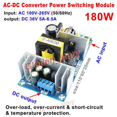 High Power Ac-dc Converter 110v 220v 230v To 36v 5a 180w Switching Power Supply