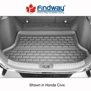 Findway F658 Style 3D Cargo Liner for 2017-2018 Honda Civic HB
