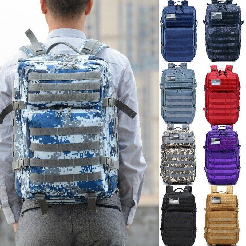 40L Backpack Waterproof Bag Backpack Rucksacks for Outdoor Trekking Hunting Camping & Hiking