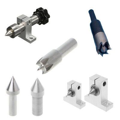 Thimble Drill Bit With Seat For Mini Lathe Machine Diy Woodworking Accessories