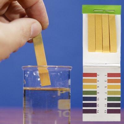 80 Pc Multipurpose Ph Test Strips Universal Full Range Litmus Paper 1-14 Acidic