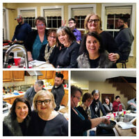 Wedding COOKING CLASS PARTY for BRIDE with Chef Garrin