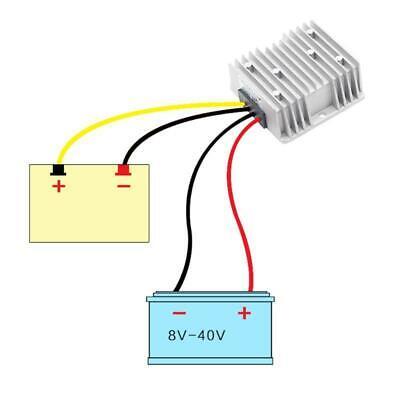Dc Voltage Stabilizer 8-40v To 12v 36a 3672w Power Supply Step Down Converter