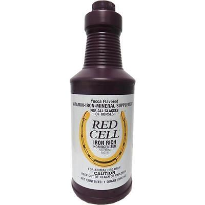 Farnam Red Stall Yucca Flavored Iron Mineral Rich Supplement Equine Horses 32oz