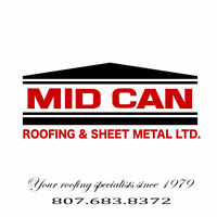 Thunder Bay's flat roof/deck specialist!
