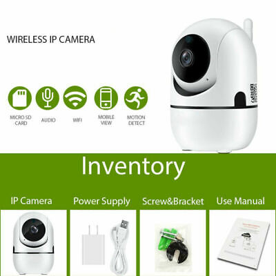 Wireless Smart WiFi IR Cut Home Security Camera 1080P HD Outdoor Night Vision