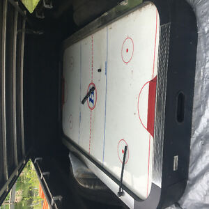Large air hockey table