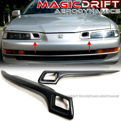 For 92-96 Honda Prelude BB4 bb1 JDM Hiro Style Eyelids Headlight Lids Cover Vent ()