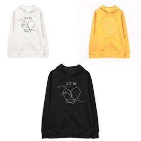 KPOP BTS Bangtanboys LOVE YOURSELF 'Answer' Derivative Loose student couples Hooded Sweater