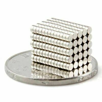 5/10/30/50/100Pcs Super Strong Round Disc 6mm x 2mm Magnets