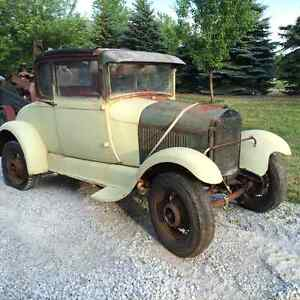 1929 ford rumble seat