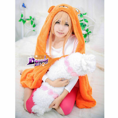 Cute Anime Halloween Costumes (Cosplay Costume Coat Cape Quilt Orange Anime Cute Hooded Cloak Halloween)